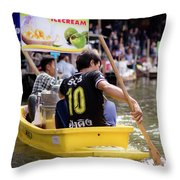 Thai Village 5 Throw Pillow