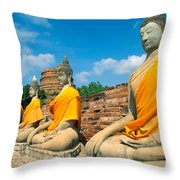 Thailand, Ayathaya Throw Pillow