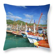 Thailand, Koh Phangan Throw Pillow
