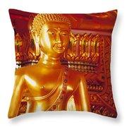 Thailand, Pathum Thani Wa Throw Pillow