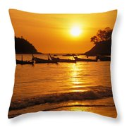Thailand, Phuket Throw Pillow
