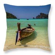 Turquoise Dreams  Throw Pillow