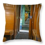 Thailand Train Throw Pillow