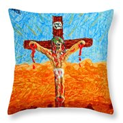 Thank God For Good Friday 1 Throw Pillow