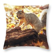 Thanksgiving Feast Throw Pillow