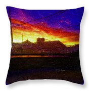 Thanksgiving Morning Throw Pillow