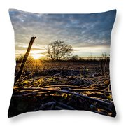 Thanksgiving Sunrise Throw Pillow