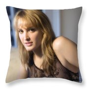 That Certain Look Throw Pillow
