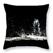 That Falls Like Tears From On High Throw Pillow by Bob Orsillo