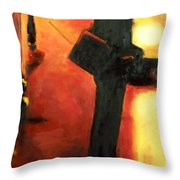 That First Step Throw Pillow
