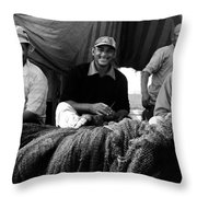 That Fishing Ilk Throw Pillow