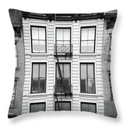 That Haunted Look Throw Pillow