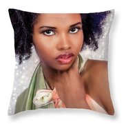 That Look 2 Throw Pillow