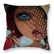 That Perfect Love I Never Had - Oil Painting Throw Pillow