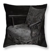 That Seventies Chair  Throw Pillow
