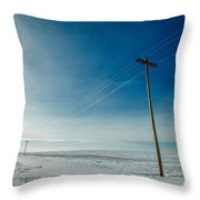 That Stretch Down South Throw Pillow