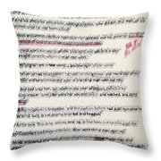 That The Works Of God Be Manifest Throw Pillow