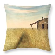 That Train Don't Stop Here Anymore Throw Pillow