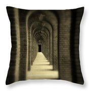 That Was Yesterday Throw Pillow