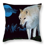 That Wolf Throw Pillow