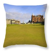 The 18th Throw Pillow