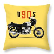 The 1974 R90s Throw Pillow