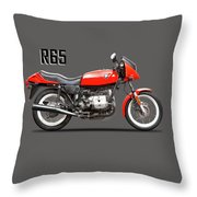 The 1982 R65ls Throw Pillow