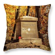 The 20th Maine Throw Pillow