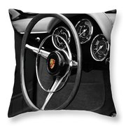 The 356 Roadster Throw Pillow