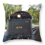 The 475 Throw Pillow
