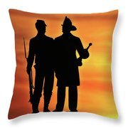 The 73rd New York Throw Pillow