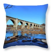 The A-line Throw Pillow