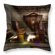 The Abbey Throw Pillow