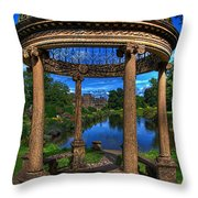 The Abbots Folly Throw Pillow