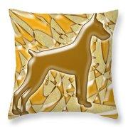 Dobermans, Magnificent Throw Pillow