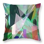 The Abstract Throw Pillow