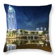 The Address Dubai Throw Pillow
