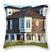 The Addy Sea Hotel - Bethany Beach Delaware Throw Pillow