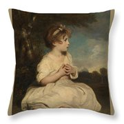 The Age Of Innocence Throw Pillow