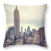 The Age Of The Empire Throw Pillow
