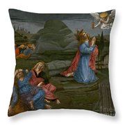 The Agony In The Garden Throw Pillow
