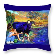 The Agronomist Throw Pillow