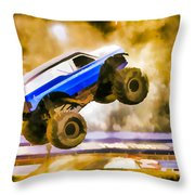 The Air Force Afterburner Throw Pillow