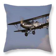 The Aircraft Throw Pillow