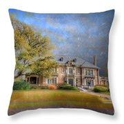 The Aldredge House  Throw Pillow
