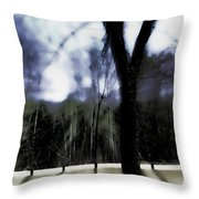 The All-knowing Throw Pillow
