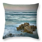 The Allure Of Morning Throw Pillow
