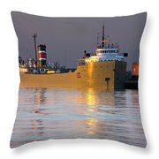 The Alpena At Rest Throw Pillow