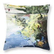 The Alster In High Summer Throw Pillow