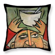 The Amazing Brad Soup Juggler Throw Pillow